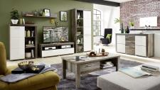 Obývací nábytek DEVON_sestava 10 E4 DW 81 + sideboard 20 + konf. stůl 29 E4 DW 02_obr. 2