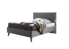 Čalouněná postel DOLCE_bez spodní desky_imitace kůže Pandora anthrazit_obr. 7