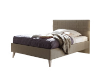 Čalouněná postel DOLCE_bez spodní desky_imitace kůže Pandora hellbraun_obr. 9