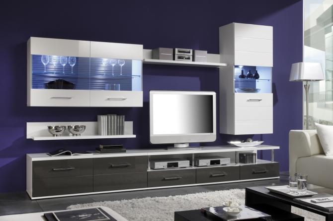 DUAL - obývacia stena + sideboard