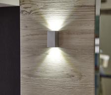Předsíňová sestava DUO _detail LED osvětlení