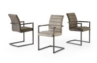 Jídelní židle FISCA s područkami_barevné varianty_obr. 1