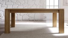 Jídelní stůl UNIVERSAL L-08201-160_divoký dub Bianco masiv