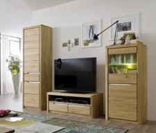 Celomasivní nábytek FLORENZ_obývací stěna 405233