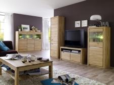 Celomasivní nábytek FLORENZ_obývací stěna s vysokým TV-spodním dílem + typy 48 a 50