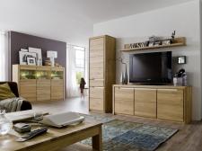 Celomasivní nábytek FLORENZ_obývací pokoj_volná sestava elementů_obr. 1