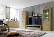 Celomasivní nábytek FLORENZ_obývací pokoj_volná sestava elementů_obr. 3