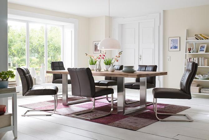 Jídelní židle FONTE v interieru_mix_obr. 1