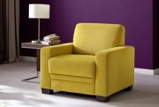 Modena 1040, křeslo v látce Hudson yellow