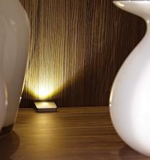 Obývací stěna Brüssel_ detail vnitřního LED osvětlení_1