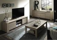 Elba_obývací pokoj, dub bělený dekor