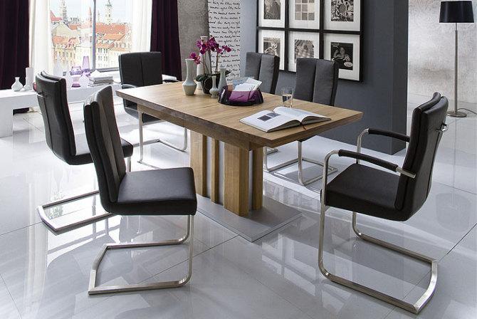 Jedálenská stolička MONDO s područkami