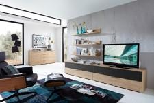 Obývací stěna MEDIAN HH_návrh 8_+ sideboard typ 21