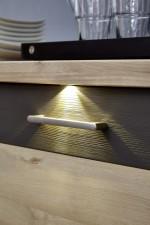 Nábytek Twist - detail LED osvětlení