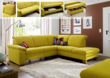 Sedací souprava ONTARIO 1031_2,5-E1ABR_v látce Easy care Yellow (2)