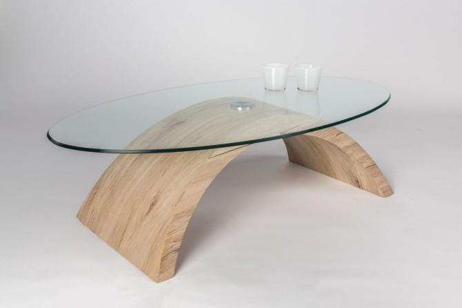 Konferenční stolek ALENKA 612.1 - dub Sanremo sand (imitace)