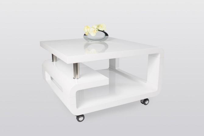 Konferenční stolek ALENA 197.1 - bílý lak