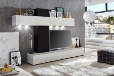 Obývací /TV MEDIA stěna GIRO, šikmý pohled