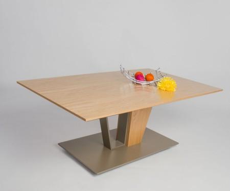 Konferenční stolek LENNY 185.1 - divoký dub přírodní dýha