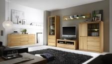 Obývací stěna PONTO 1160.955.65 + sideboard 1160.818.65 + příslušenství_ kořenový buk