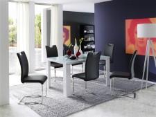 Jídelní židle KARIA černá v interieru_obr. 5