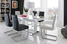 Jídelní židle FIRENZE + jídelní stůl MANCHESTER (1)