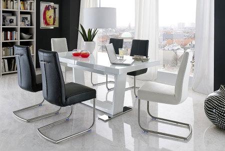 Jídelní židle FIRENZE + jídelní stůl MANCHESTER (2)