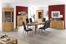 Jídelní židle NELA II. v interieru_mix s židlí NELA_černá_obr. 8