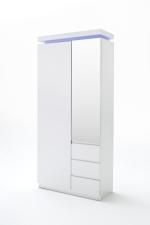 CORONA 52731, šatní skříň, LED modré