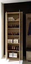 Předsíňový nábytek GIP - detail vnitřního uspořádání skříně