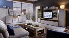 Obývací nábytek GRENADA_sestava 10 E9 2M 81 + sideboard 20 + konf. stůl 29 E9 2M 02_obr. 1