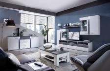 Obývací / jídelní nábytek GRENADA white_ob. sestava 10 E9 WT 80 + sideboard 20 + konf. stůl 29 E9 WT 02_varianta_obr. 2