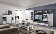 Obývací / jídelní nábytek GRENADA white_ob. sestava 10 E9 WT 81 + highboard 22 + konf. stůl 29 E9 WT 02_obr. 3
