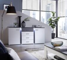 Sideboard GRENADA white 10 E9 WT 20_obr. 8