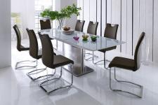 Jídelní stůl HELION v interieru, rozložený (5)