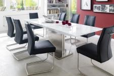 Jídelní stůl HELION v interieru, rozložený (6)