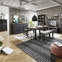 Obývacie a jedálenské zostavy JASPER graphit