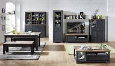 Obývací / jídelní nábytek JASPER graphit_ob. sestava 10 G9 GH 80 + buffet 10 G9 GH 84 + konf. stůl 20 G9 GH 02 + jídelní stůl 20 G9 GH 01 + 2x lavice 20 G9 GH 03_obr. 3
