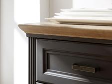 Obývací / jídelní nábytek JASPER graphit_detail horní desky_obr. 20