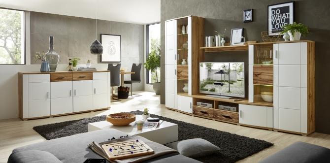 Obývací stěna + komoda JEANETTE_interier 1_obr. 1