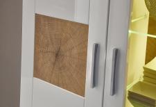 """Obývací nábytek JUNO_detail """"Hirnholz"""" imitace_obr. 11"""