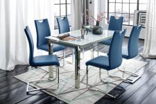 Jídelní židle KARIA modrá v interieru_obr. 9