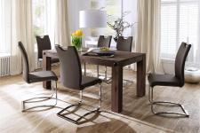 Jídelní židle KARIA hnědá v interieru_obr. 11