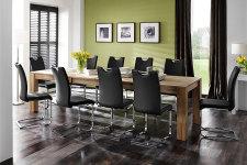 Jídelní židle KARIA černá v interieru_obr. 12