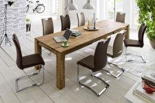Jídelní židle KARIA hnědá v interieru_obr. 14