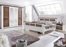 Ložnice LAGOON_4-dv. šatní skříň_postel 180x200cm_2x noční stolek_obr. 2