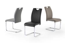 Jídelní židle LAUSAGNE I._chrom_barevné varianty_obr. 7
