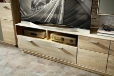 Obývací nábytek LAVA_detail TV-spodního dílu_obr. 14