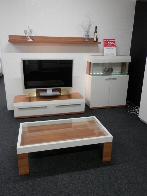 LIGHT LINE II. - obývacia stena + konf. stôl