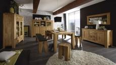 Masivní dubový nábytek LOFT_jídelna_volná sestava elementů_obr. 7